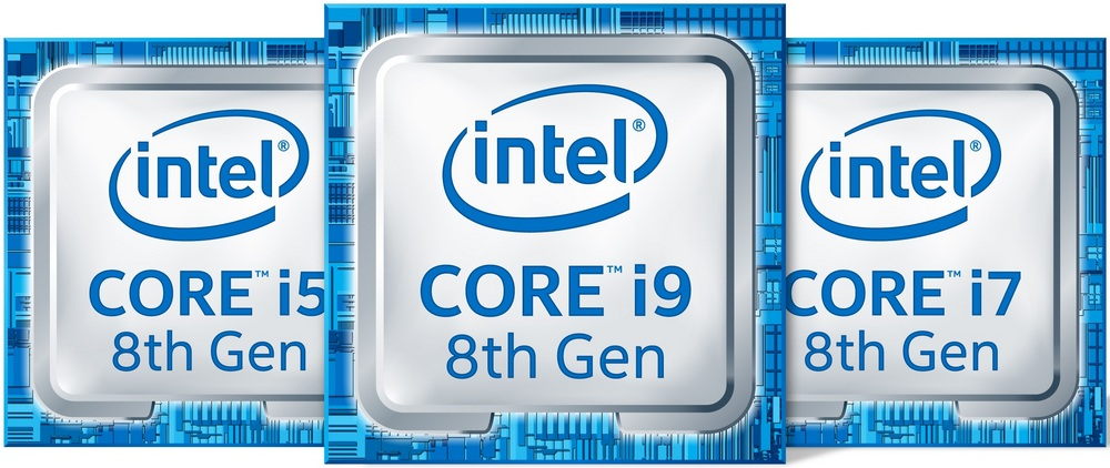 The new 8th Gen Intel Core i9, i7 and i5 processors for laptops are based on the Coffee Lake platform and leverage the 14nm++ process technology enabling them to deliver up to 41 percent more frames per second in gameplay1 or edit 4K video up to 59 percent faster than the previous generation with same discrete graphics.2